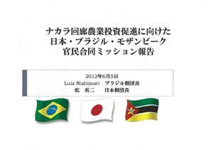 写真・図版 : JICAアフリカ部・乾英二部長(当時)の発表スライドより(2012年6月、JICAセミナーで使用)