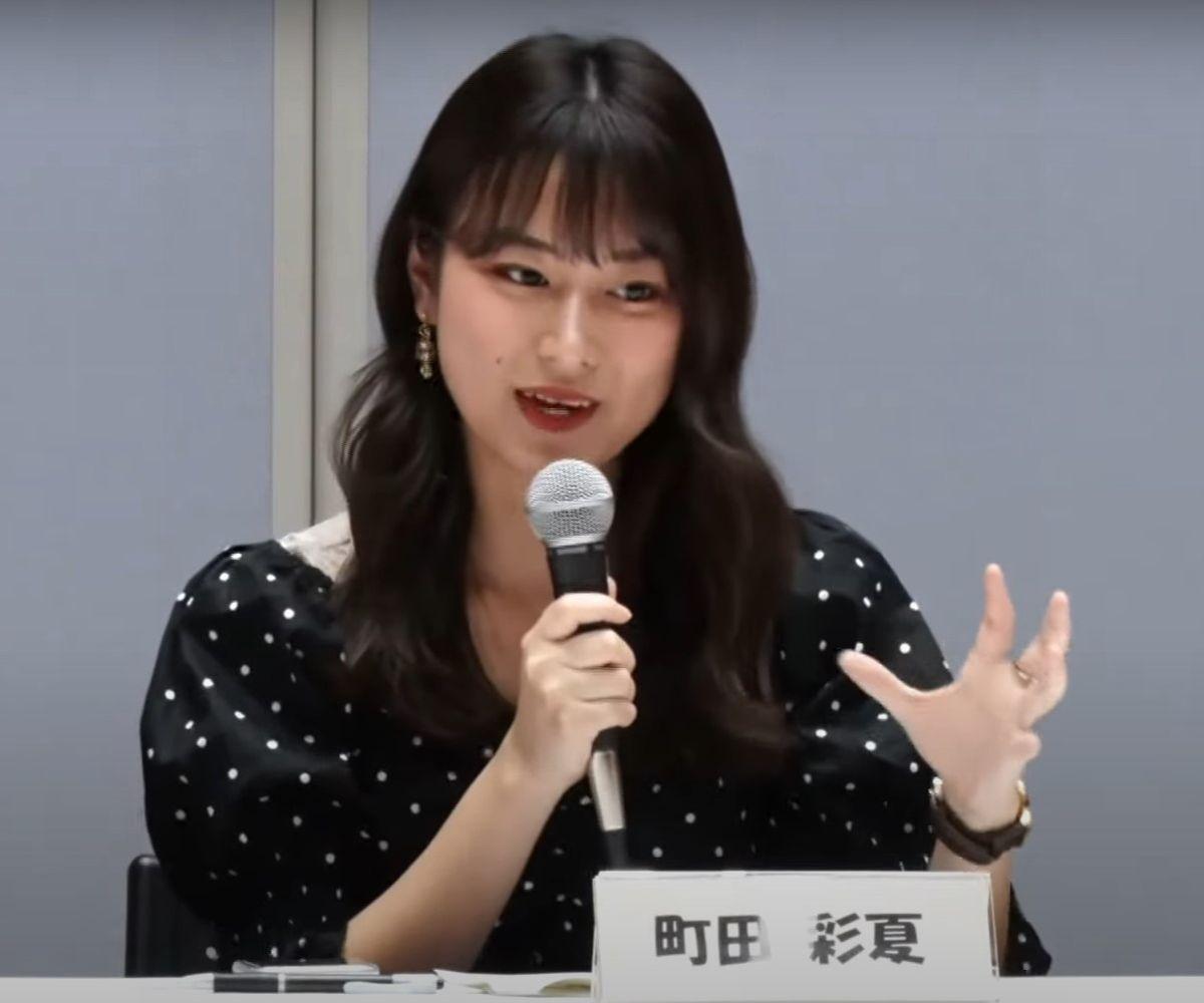 政治アイドル・町田彩夏さん