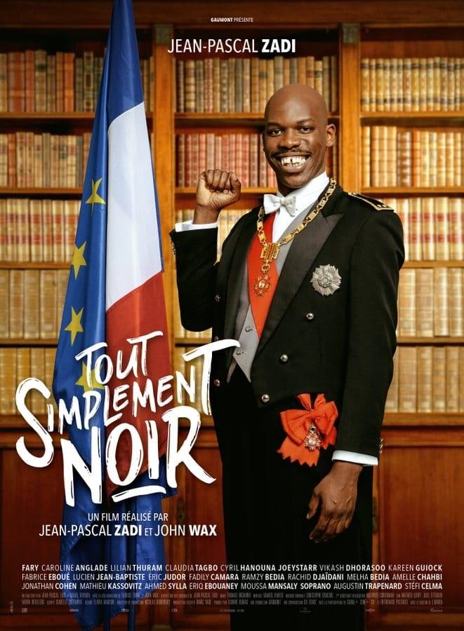 国民的コメディ映画『Tout Simplement Noir(全く単純に黒人)』のポスター
