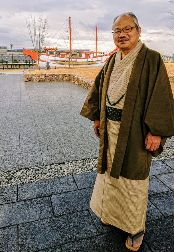 写真・図版 : 安部龍太郎さん