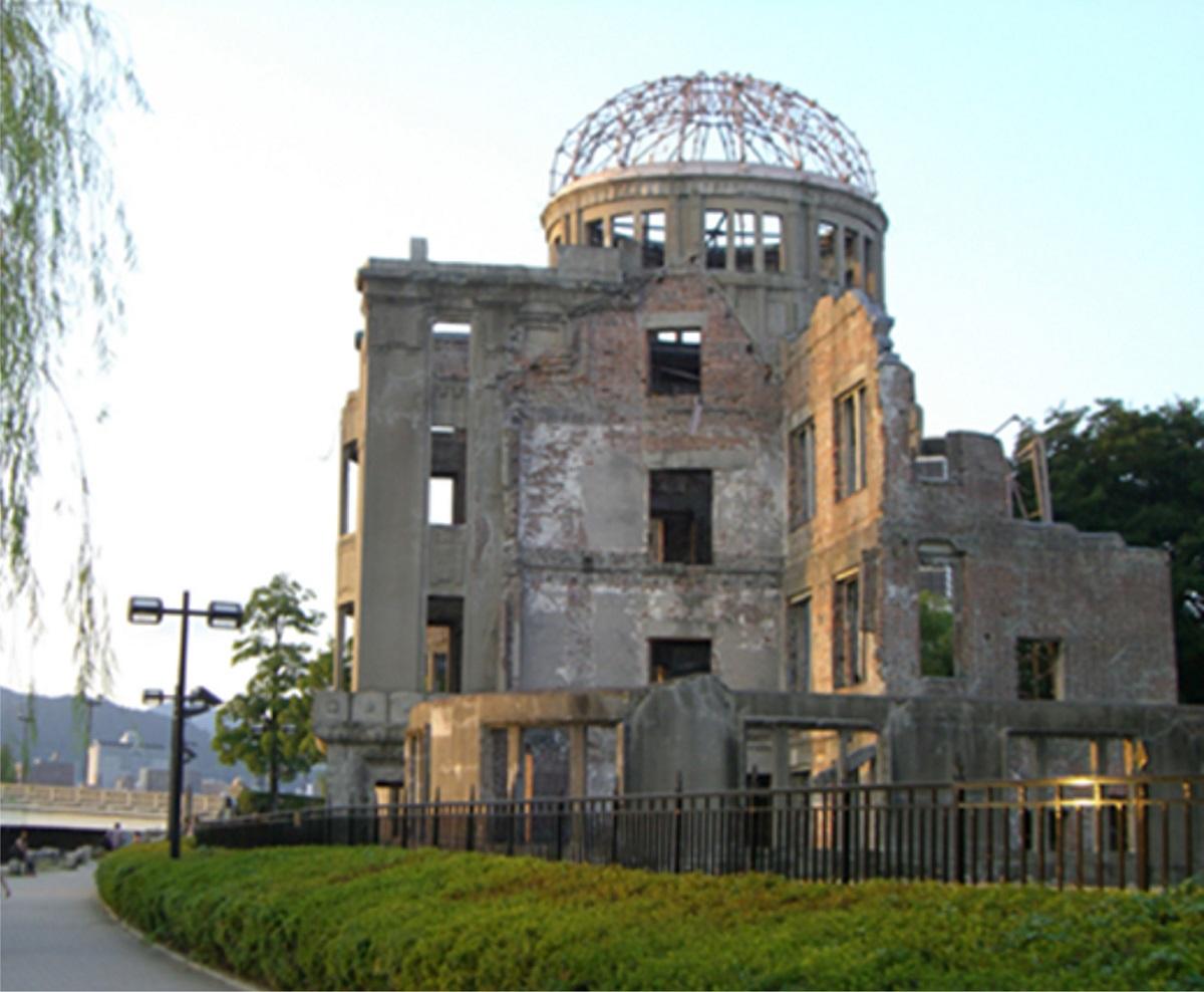 写真・図版 : 原爆ドーム(2010年、筆者撮影)