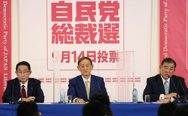 菅政権なら「安倍家の生ゴミのバケツのふた」 田中真紀子氏が語る自民総裁選