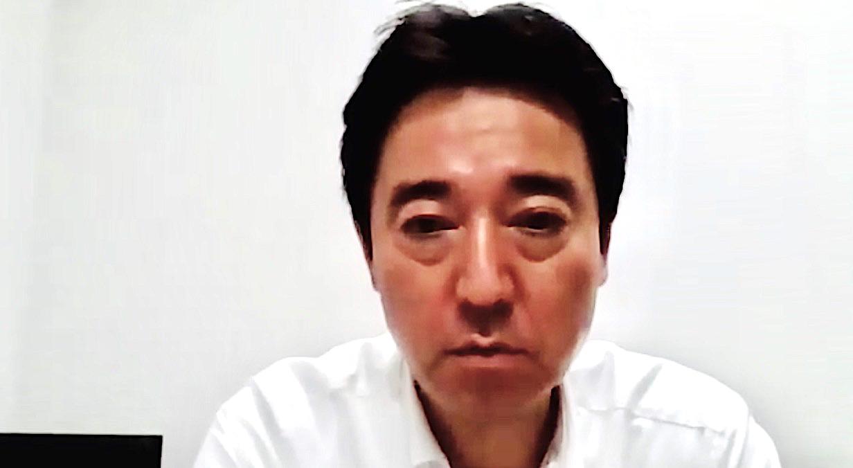 写真・図版 : ZOOMでの取材に応じる宮崎昌治氏