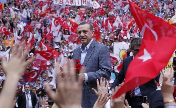 写真・図版 : トルコのエルドアン大統領 fulya atalay / Shutterstock.com