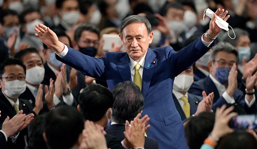 """写真・図版 : 菅政権も""""王政""""になるのだろうか"""