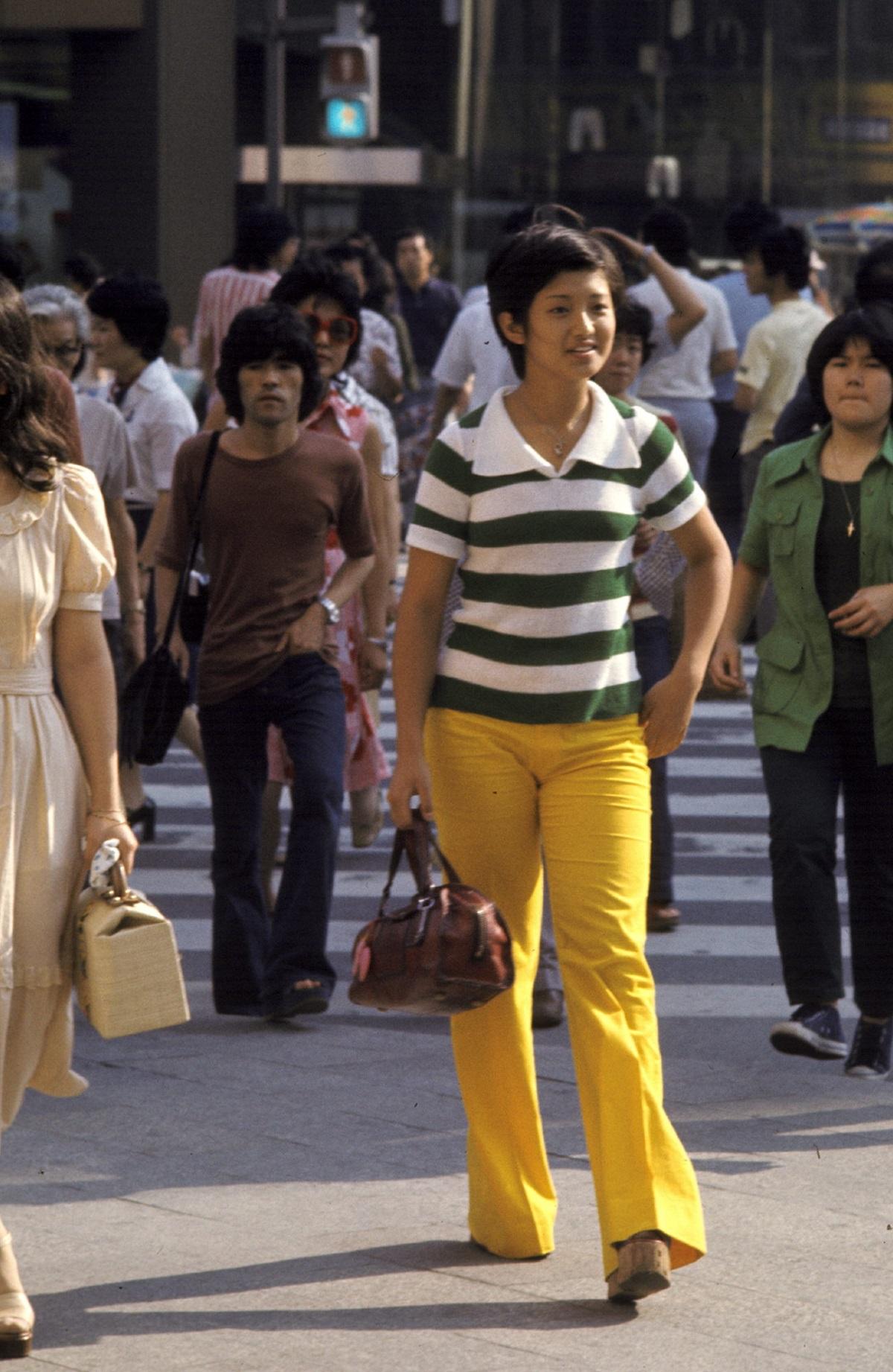 写真・図版 : 15歳の夏=1974年、東京・銀座で
