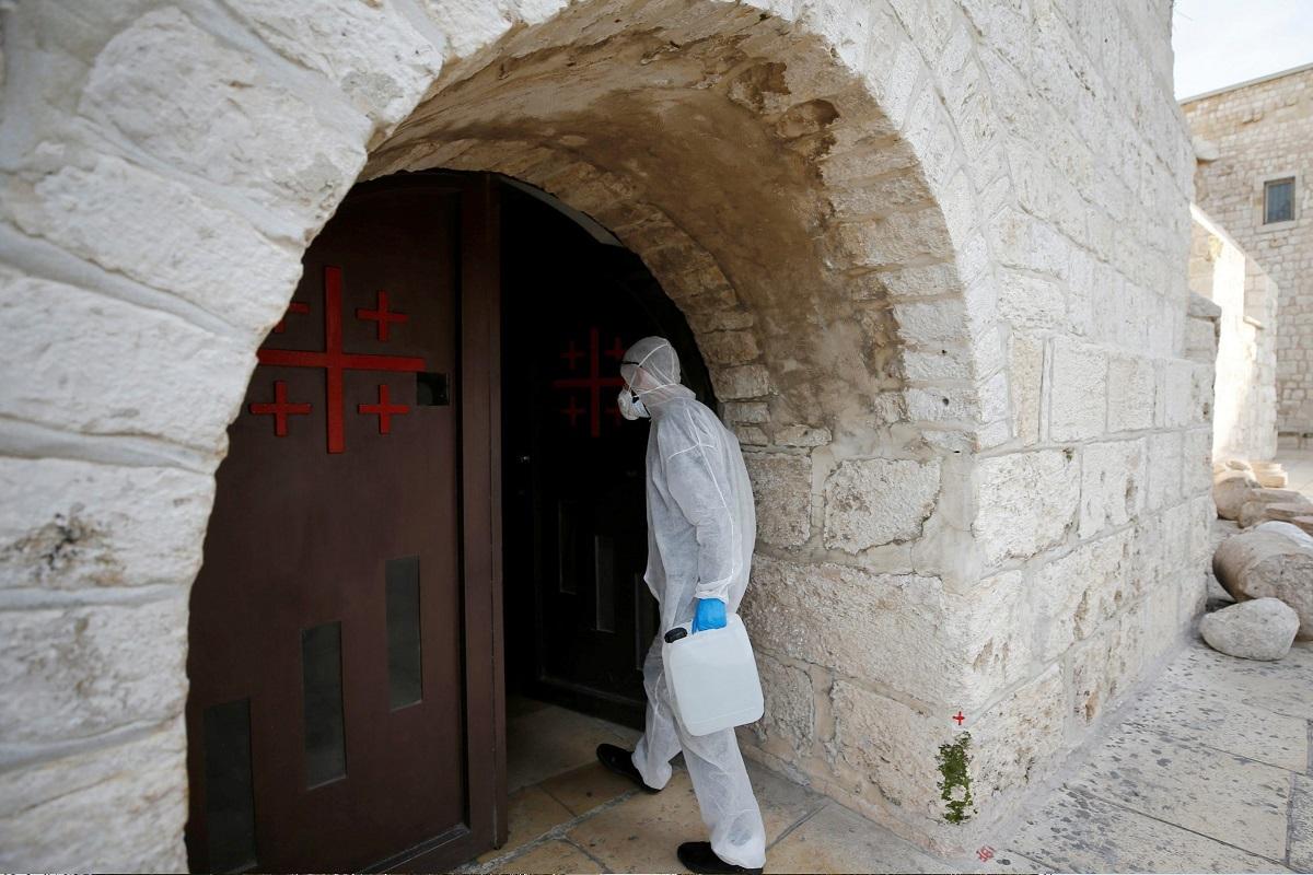 ヨルダン川西岸のベツレヘムで abu adel/Shutterstock.com