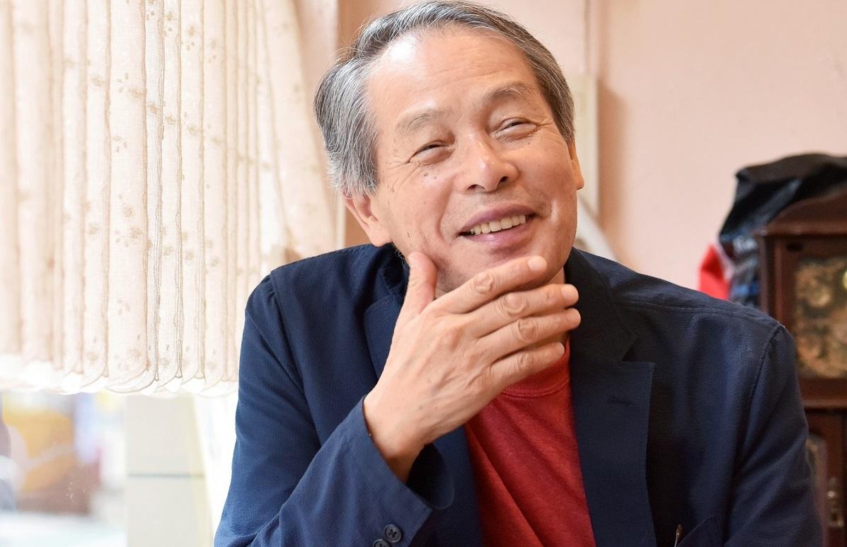 池内紀さん=2017年、撮影・工藤隆太郎