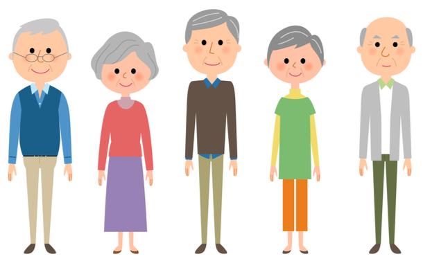 高齢化は進んでも「健康な老人」が多い日本