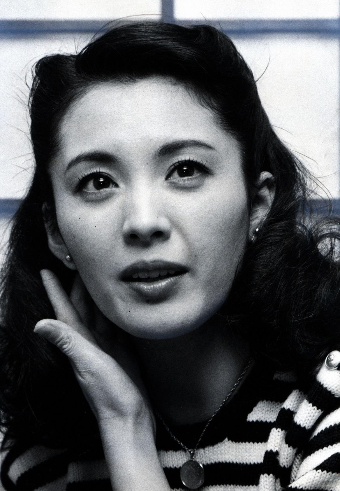 写真・図版 : 松坂慶子=1984年撮影