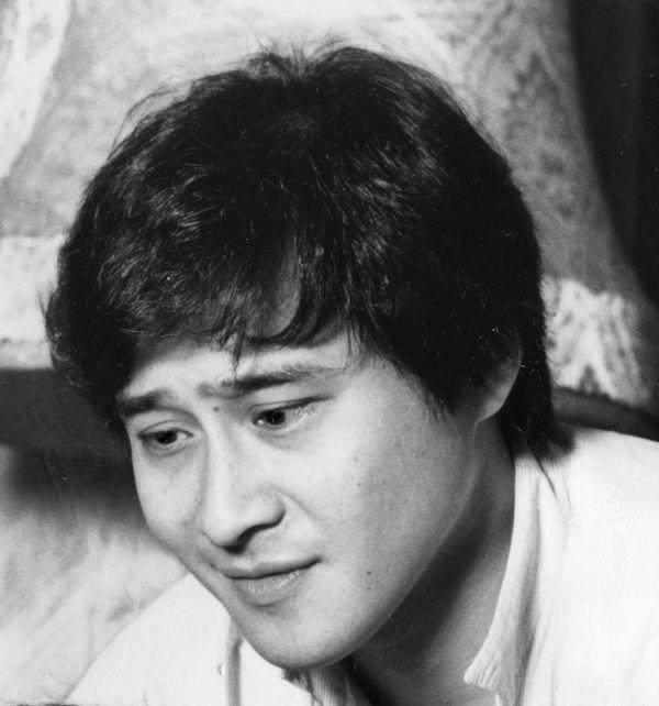 写真・図版 : 萩原流行=1985年撮影