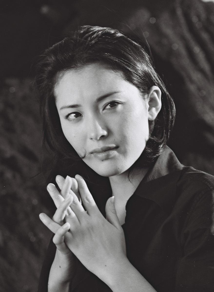 写真・図版 : 松坂慶子=1978年撮影