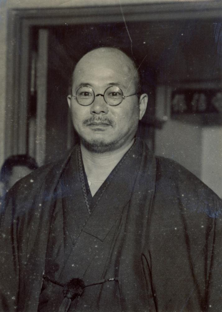 写真・図版 : 井上日召=1933年ごろ