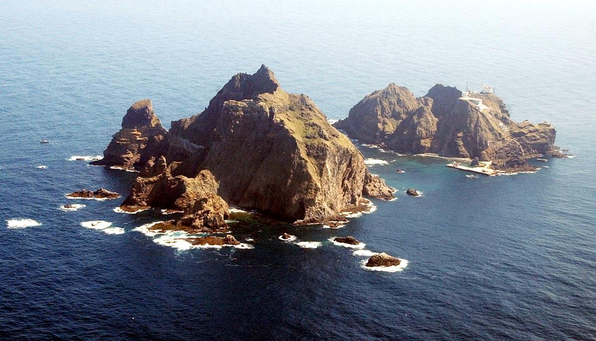 写真・図版 : 韓国で独島と呼ばれる竹島