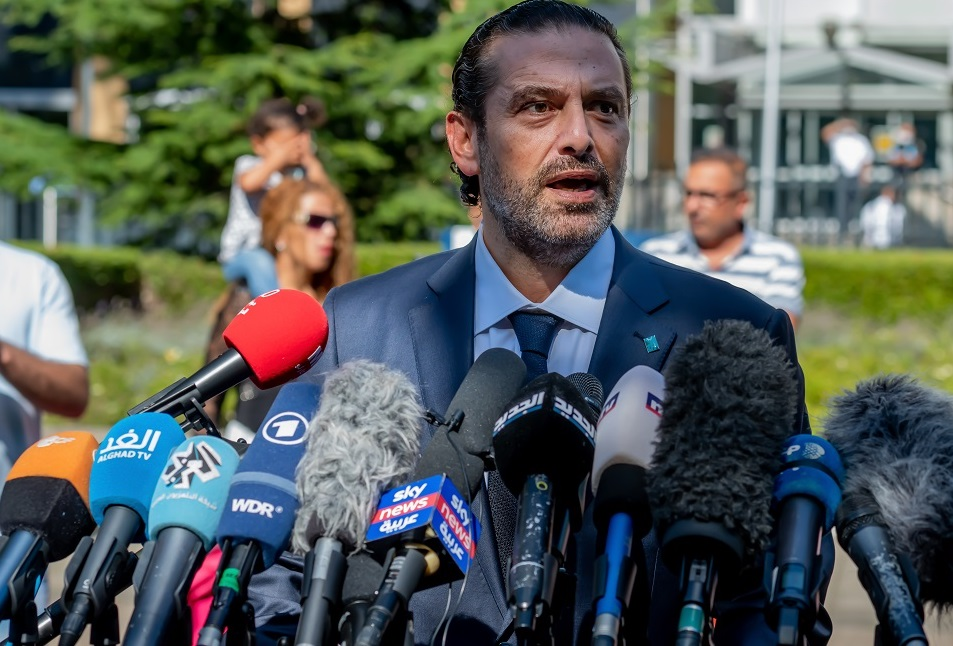 写真・図版 : 国民の批判を受けて一度は首相を辞任したサード・ハリリ氏 Ankor Light/Shutterstock.com