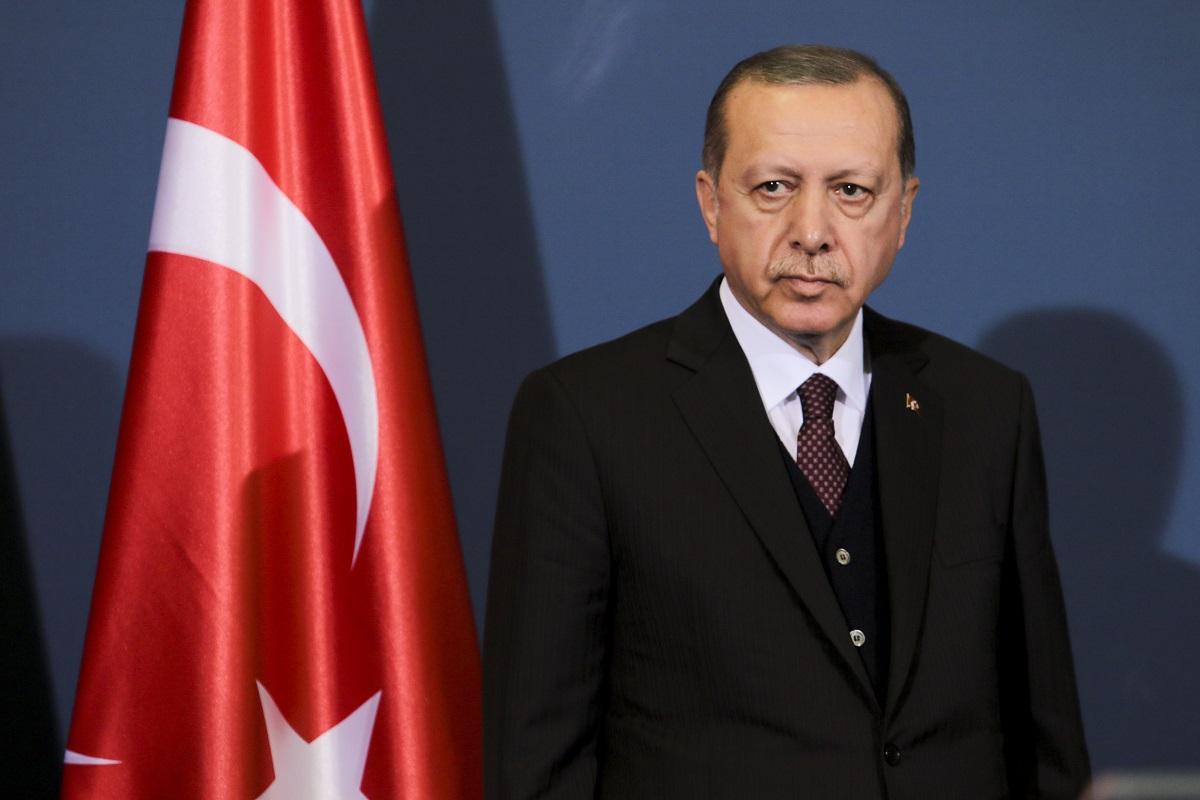 トルコのエルドアン大統領 Sasa Dzambic Photography/Shutterstock.com