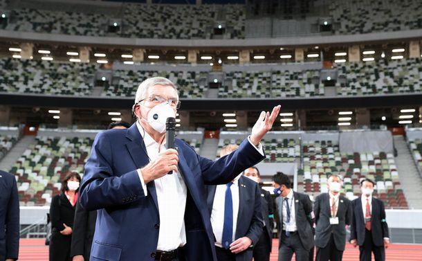 IOC会長の来日と国内の感染急拡大 東京五輪の理想と現実のかい離とは