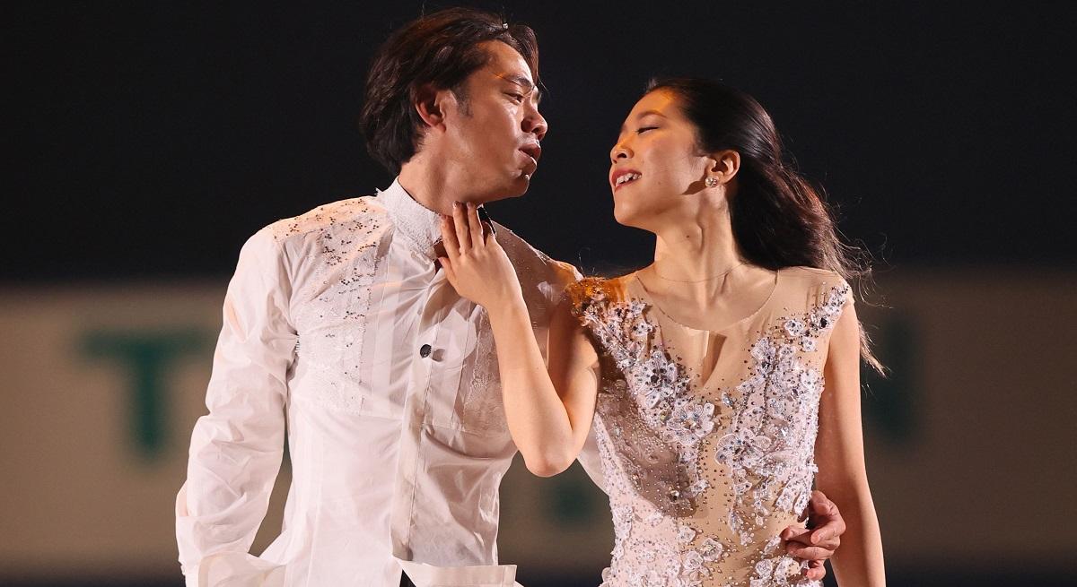 NHK杯のエキシビジョンで=2020年11月29日、大阪府門真市の東和薬品RACTABドーム、代表撮影