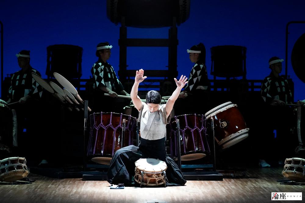 写真・図版 : 『鼓童ワン・アース・ツアー2020~鼓』公演から=岡本隆史 撮影