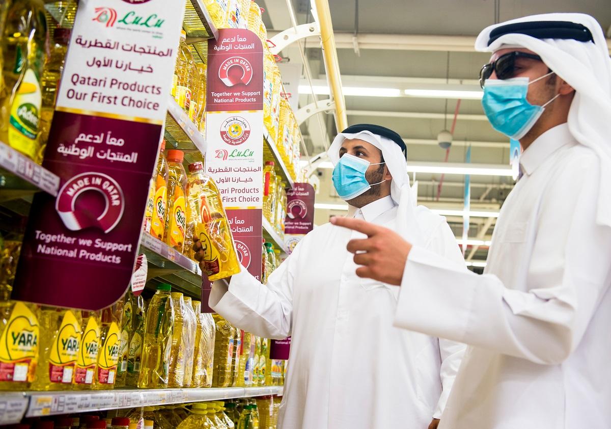 カタール・ドーハのショッピングセンターで=2020年7月 Noushad Thekkayil/Shutterstock.com