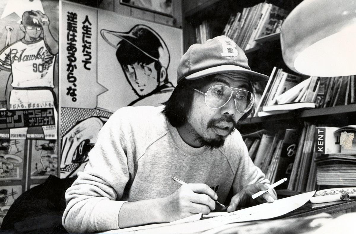 引退を発表したマンガ家・水島新司さん=2011年