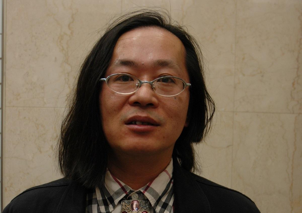 写真・図版 : 2007年、渋谷区長選に立候補した時の宅八郎さん