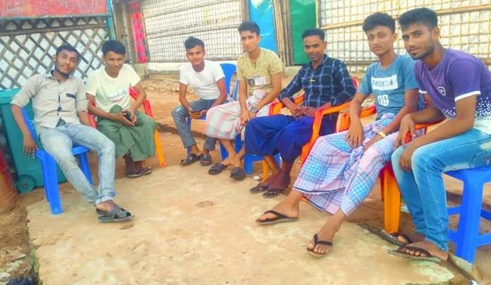 写真・図版 : Rohingya Student Unity Rightsの幹部