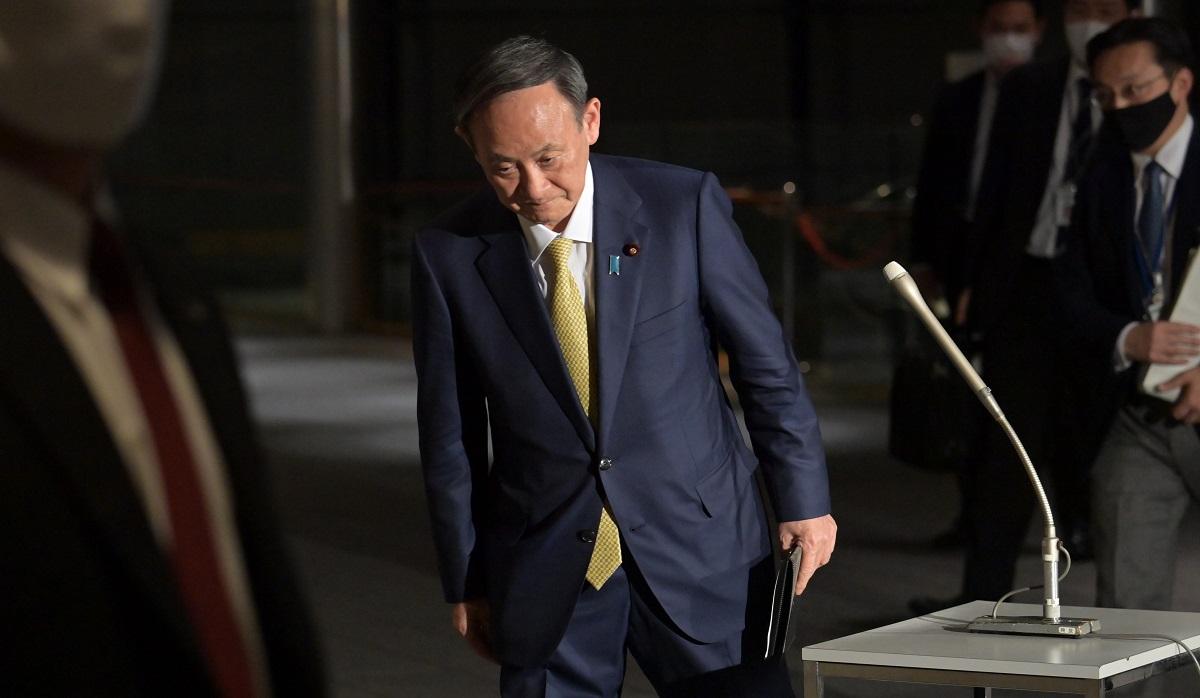 写真・図版 : 菅義偉首相=2020年12月24日、首相官邸