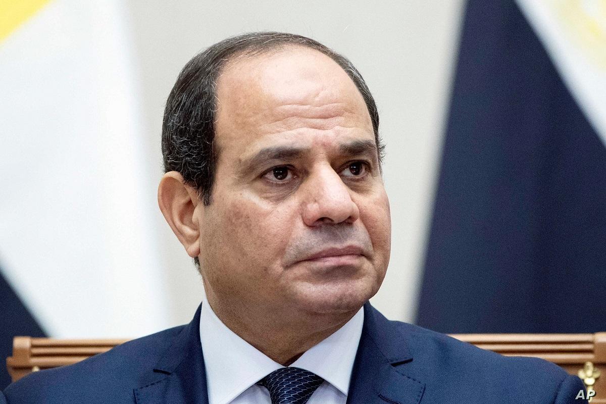 写真・図版 : 言論規制を強めるエジプトのシーシ大統領 vasilis asvestas/Shutterstock.com