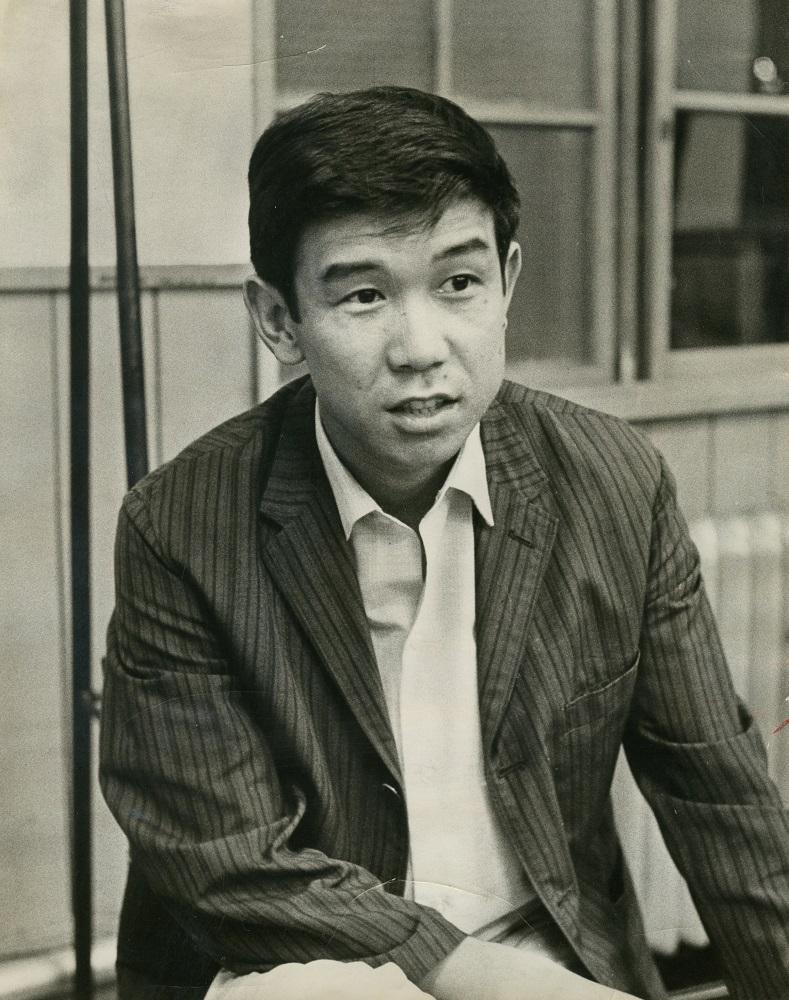 写真・図版 : 青島幸男(1965年)