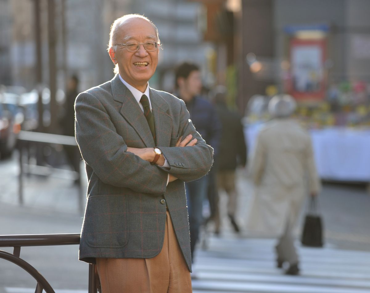 写真・図版 : 半藤一利さん=東京都千代田区、2010年3月10日