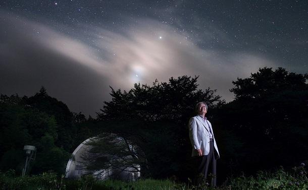 海部宣男さんと宇宙吟遊 ― 天文学者、俳句と短歌を詠む