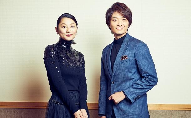 『日本人のへそ』井上芳雄&小池栄子取材会