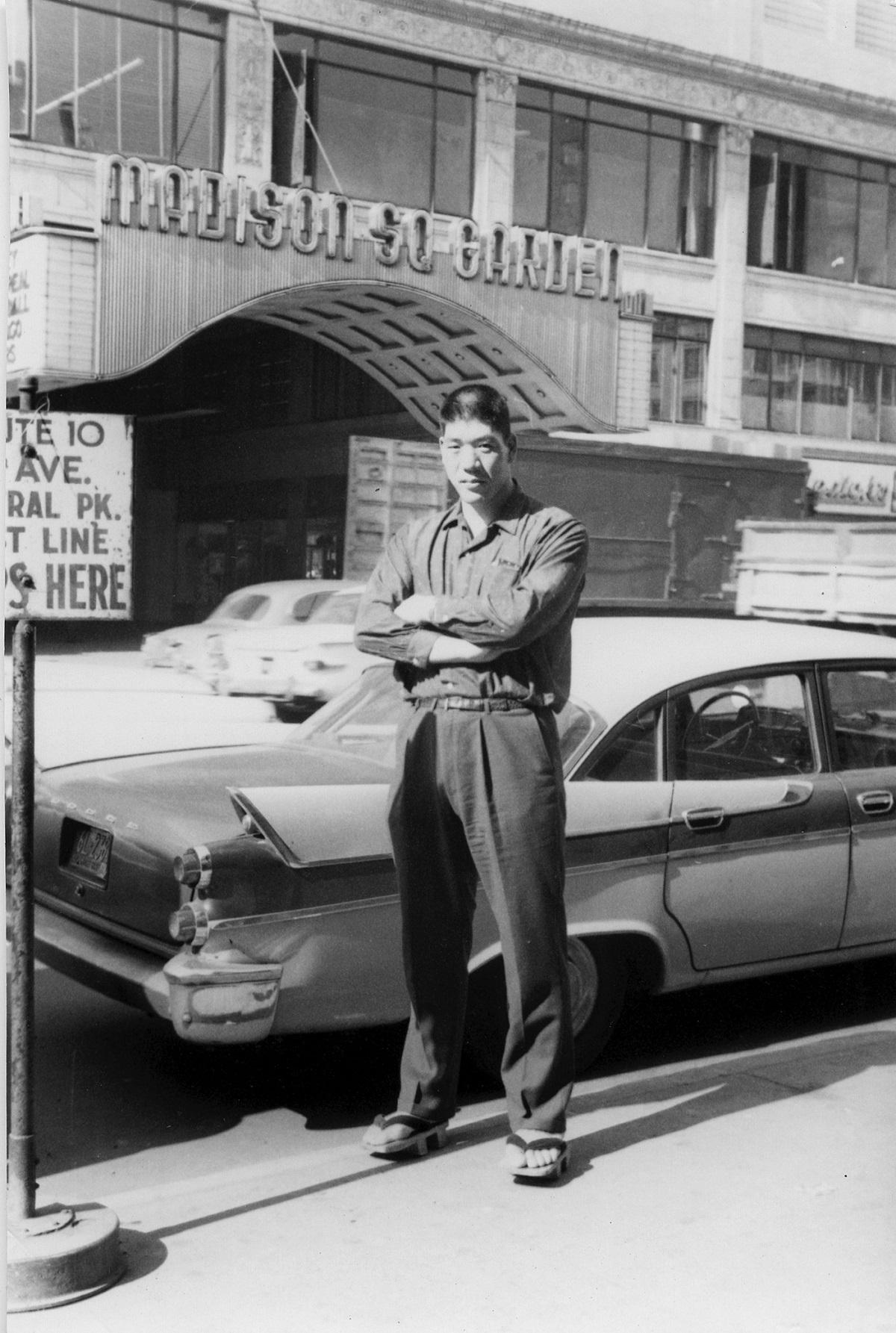 写真・図版 : 1961年7月からの武者修行期間中に=株式会社H.J.T.Production提供