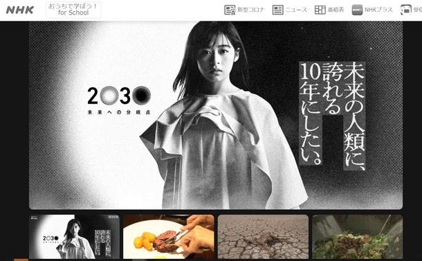 写真・図版 : NHKスペシャル『2030 未来への分岐点「飽食の悪夢~水・食料クライシス」』(NHKホームページより)
