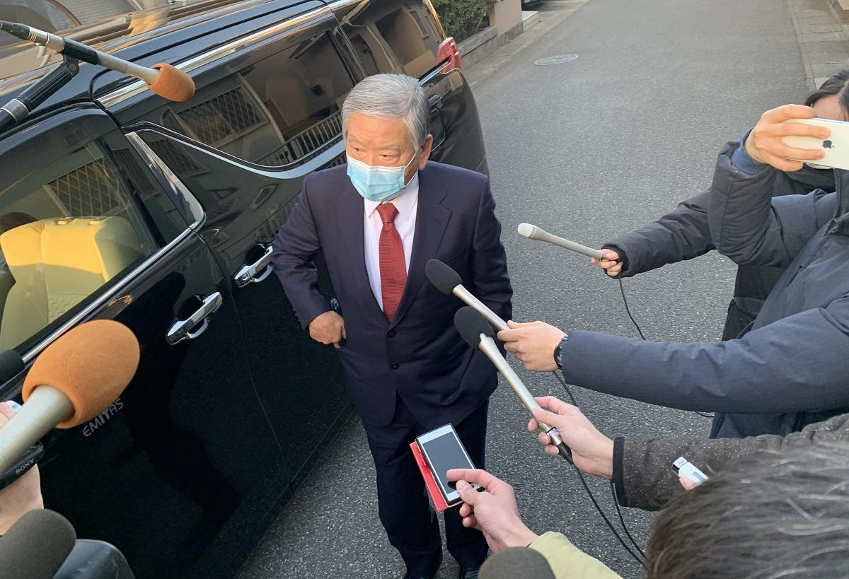 写真・図版 : 森喜朗会長の後任として名前が挙がったものの、プロセスが「不透明」としてすぐ辞退することになった川淵三郎氏