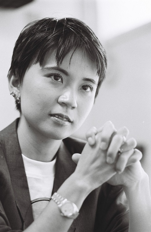 写真・図版 : 家田荘子=1993年9月
