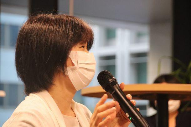 西銘むつみさん(NHK沖縄放送局記者)