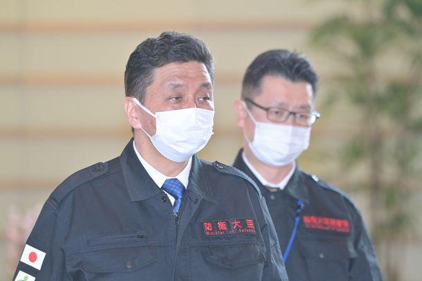 岸信夫防衛相=2021年2月14日、首相官邸