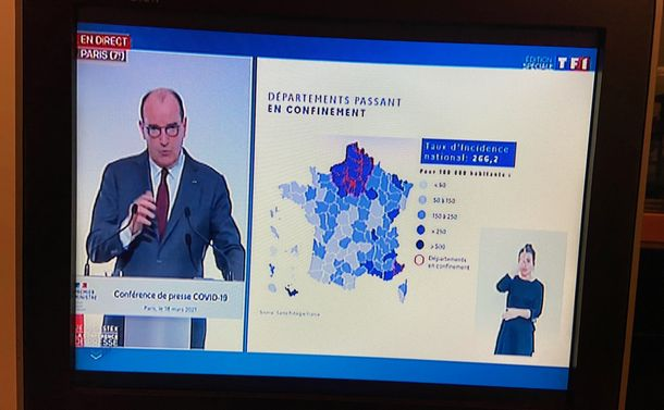 コロナでフランスは三度目のロックダウン。いつまで続くSF的な暗澹たる世界