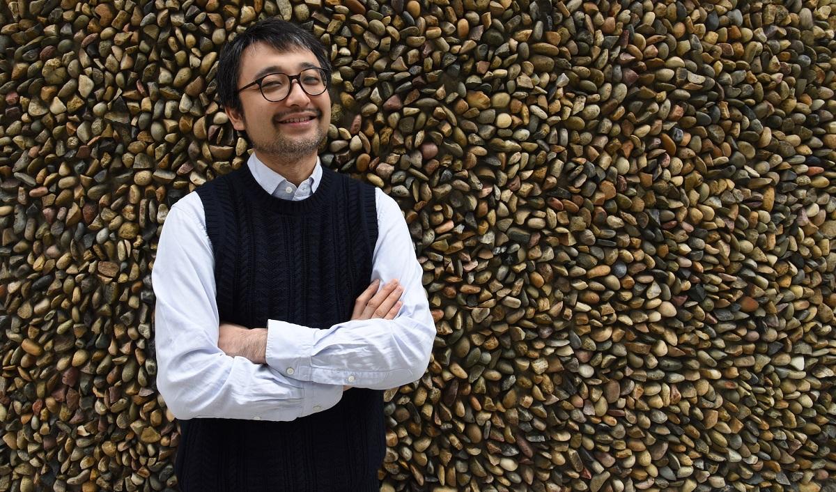 写真・図版 : 海野雅威さん=2019年、本人提供