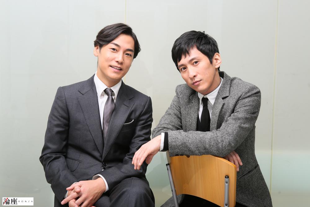 写真・図版 : 成河(右)&福士誠治=宮川舞子 撮影
