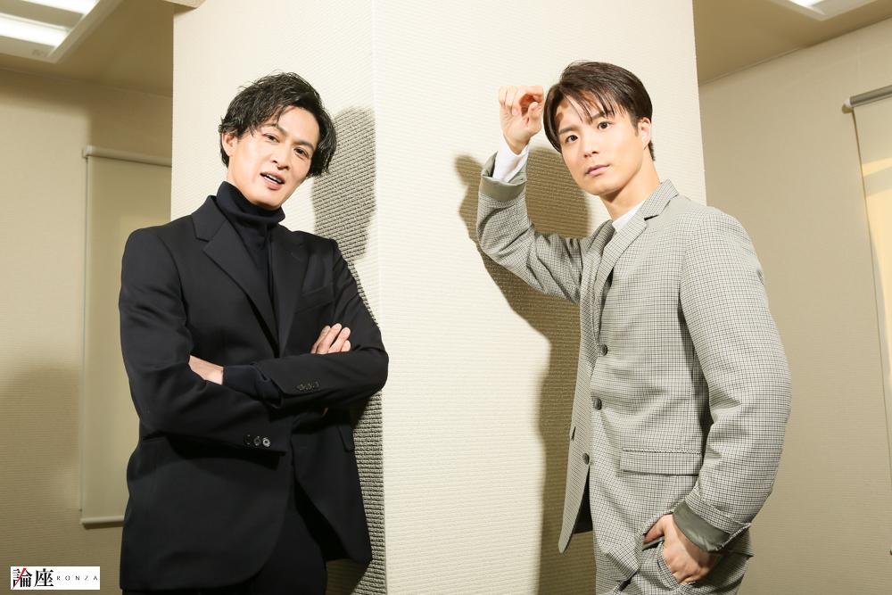 写真・図版 : 田代万里生(右)&新納慎也=宮川舞子 撮影