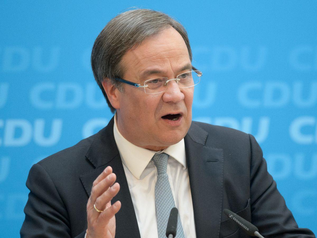 写真・図版 : ドイツ最大与党・キリスト教民主同盟(CDU)のアルミン・ラシェット党首。1月の党首選で選出された=photocosmos1/Shutterstock.com