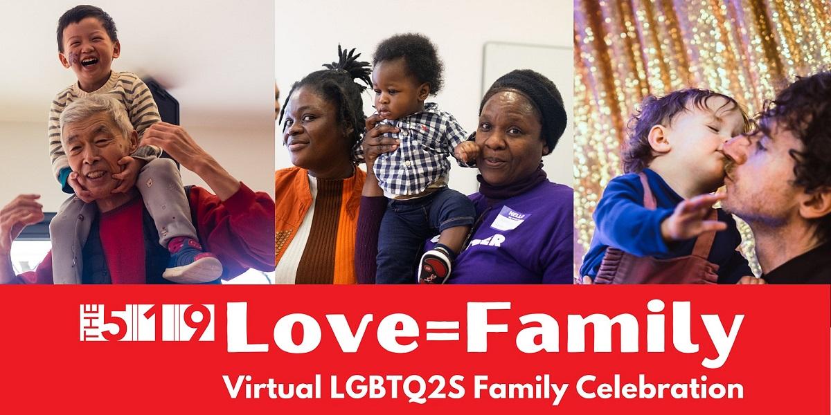 写真・図版 : トロント市の公民館によるLGBT自認の親たちのための支援事業。多様な家族のあり方を応援する取り組みが様々な主体によって実施されている=公民館ウェブサイトより 筆者提供
