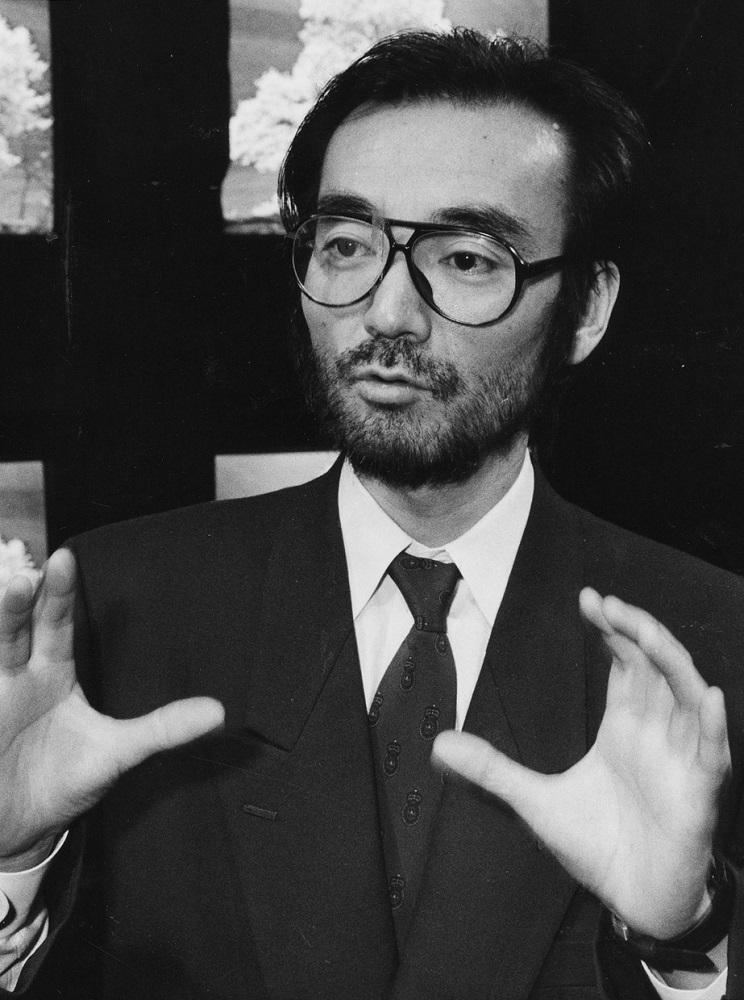 写真・図版 : 電通社員時代の新井満=1989年3月13日