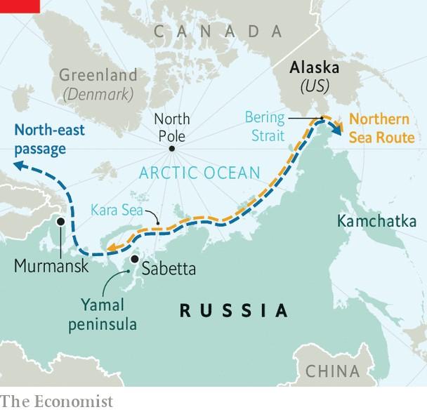 写真・図版 : 図 北方海洋ルート