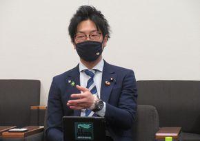 写真・図版 : 堀越啓仁さん=2021年4月14日