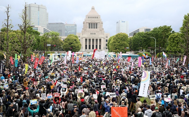 【11】公共性への無関心と「デモのない国」