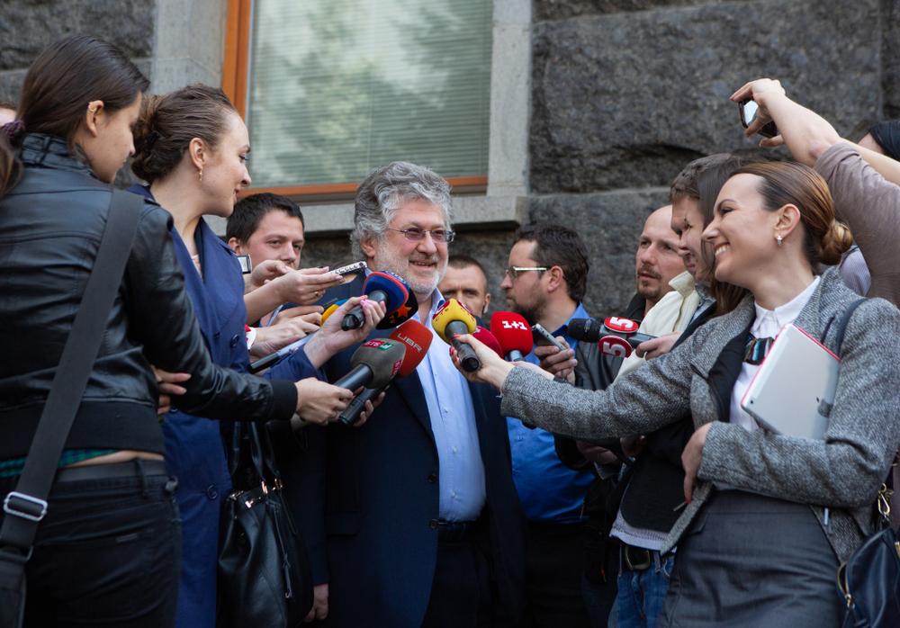 写真・図版 : ウクライナの政商イーホル・コロモイスキー photowalking / Shutterstock.com